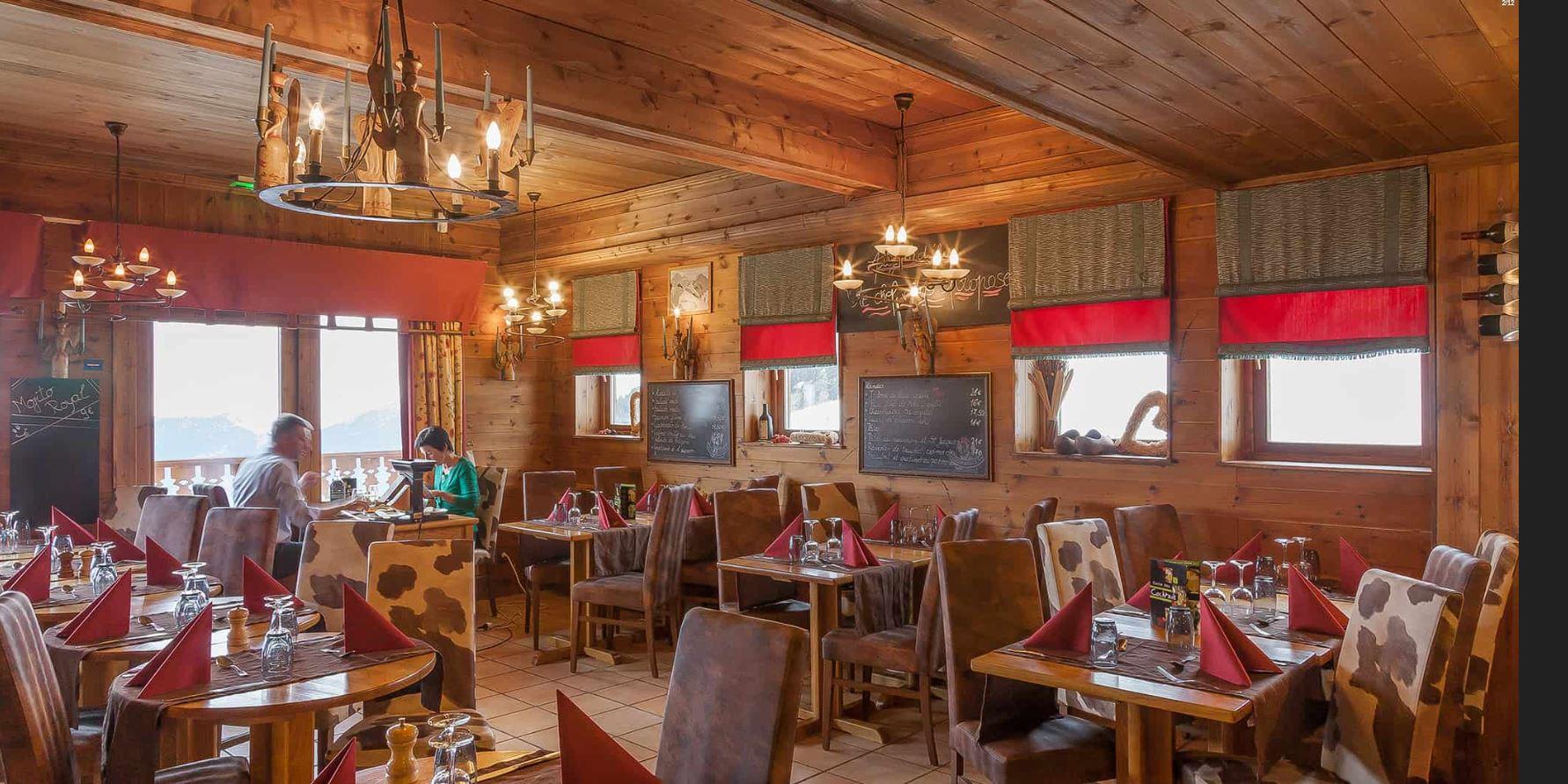 Restaurant for half board at Les Balcons de Belle Plagne
