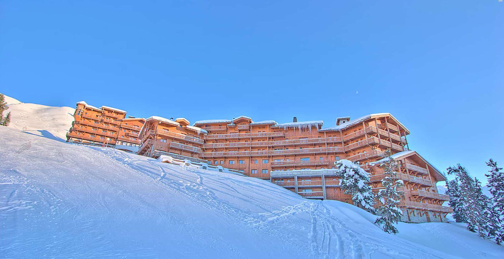 Ski in ski out at Les Balcons de Belle Plagne