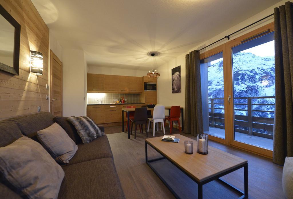 Living area at Coeur des loges Les Menuires