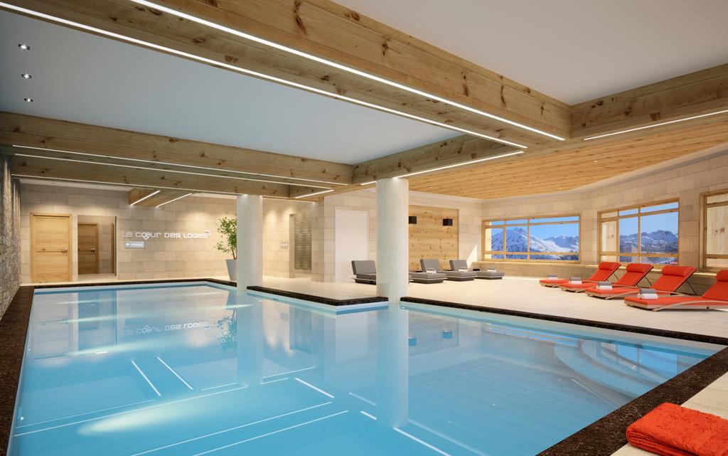 Swimming pool at Coeur des Loges Les Menuires