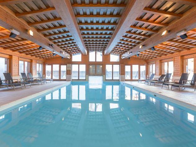 Indoor swimming pool at Arc 1950 Le Village Le Prince des cimes
