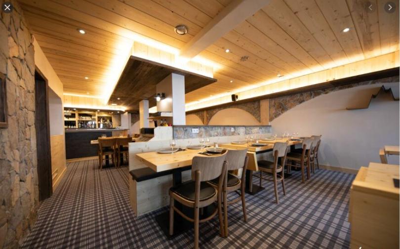 The Galette restaurant for L'Hevana Meribel