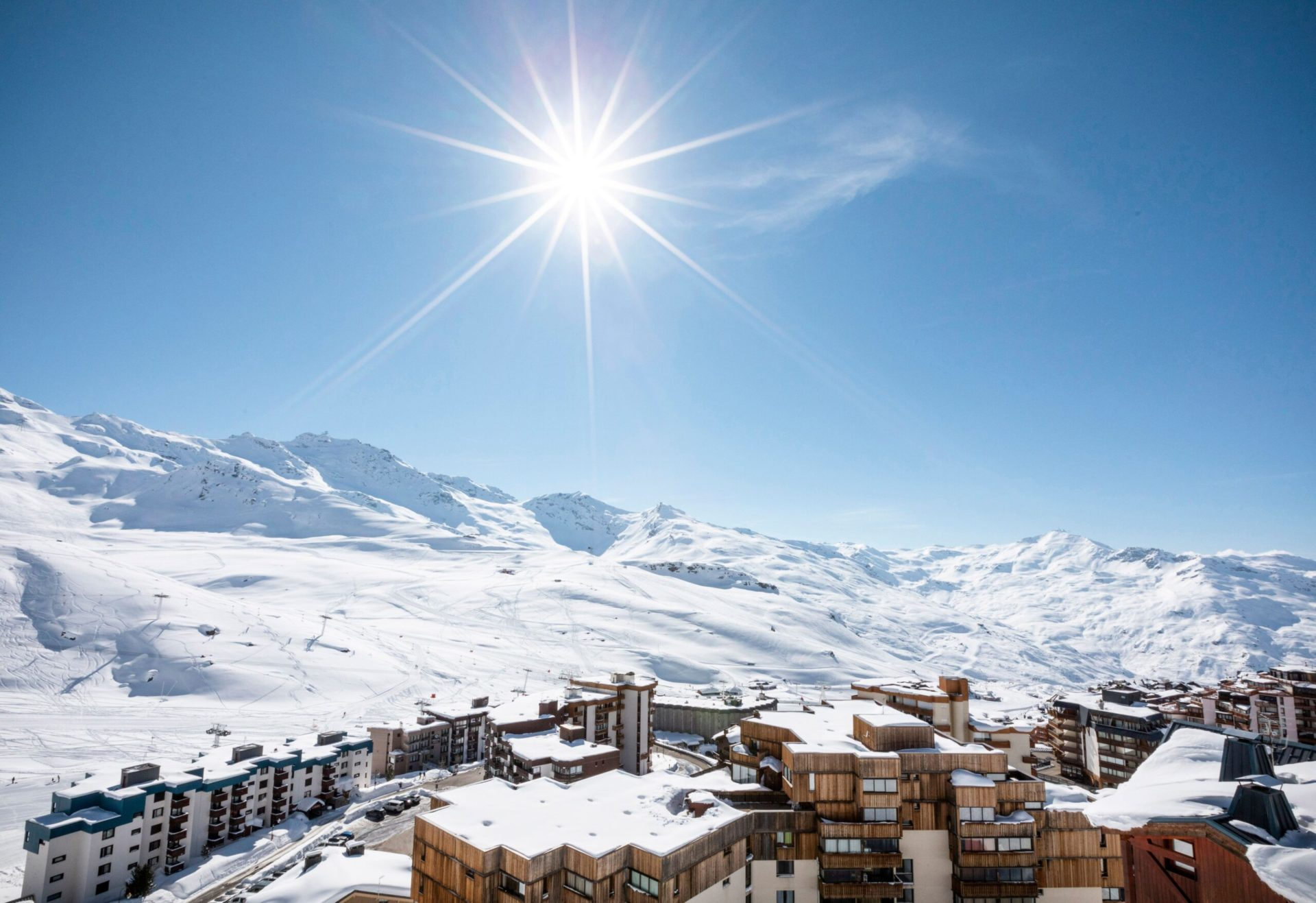 An image of the views from Chalet des Neiges Residence Hermine
