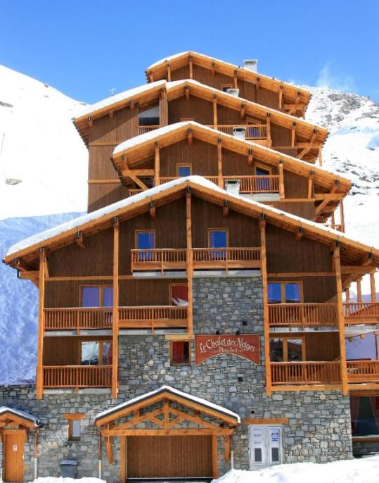 An image of the exterior of Chalet Des Neiges Plein Sud