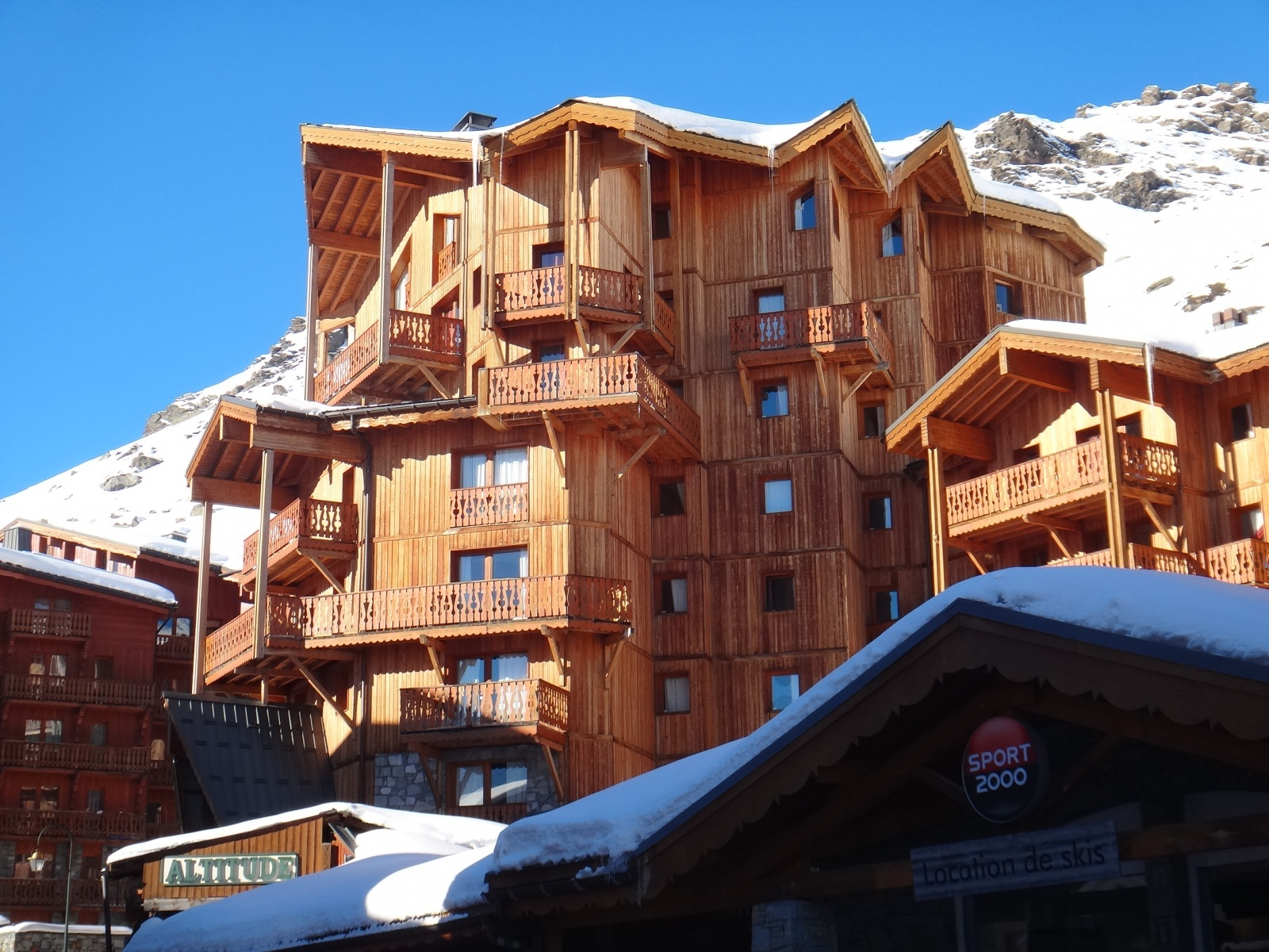 An image of the Chalet Altitude Val Thorens residence