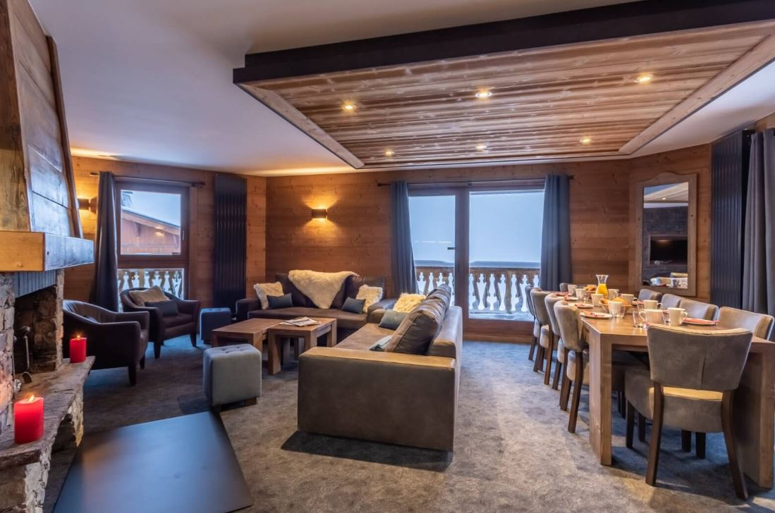 An image of a spacious apartment at Chalet Altitude Val Thorens