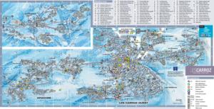 Les Carroz Village Map