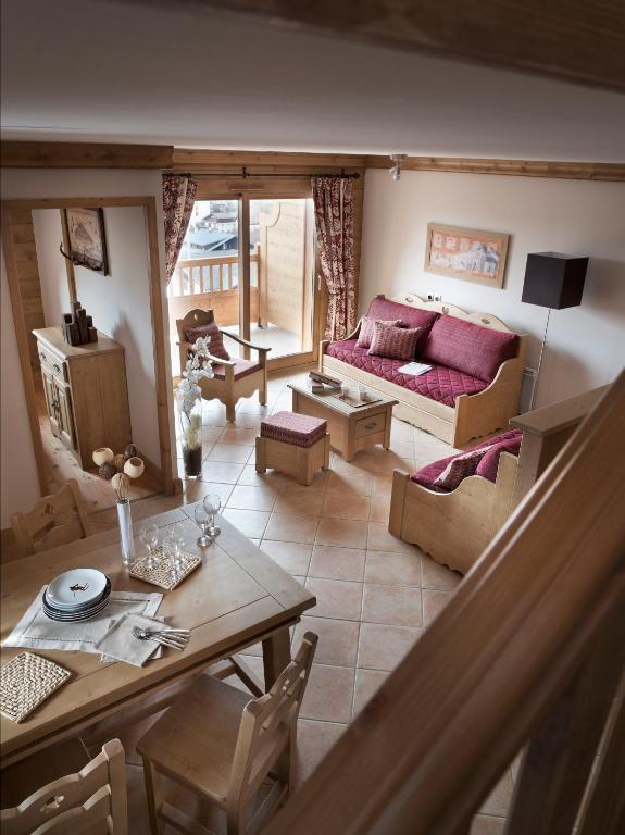 An image of one of the apartments at Les Chalets de Jouvence Les Carroz