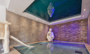 The children's pool in the spa area