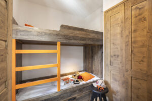 Bunk bed in the apartment