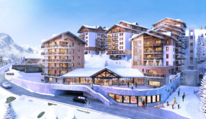 The new residence Les Clarines Les Deux Alpes