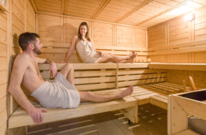 There's a sauna at the residence