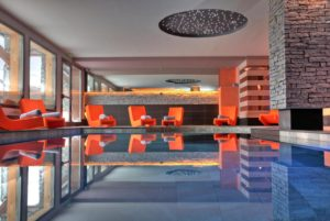 A photo of the swimming pool at Village Montana Val Thorens